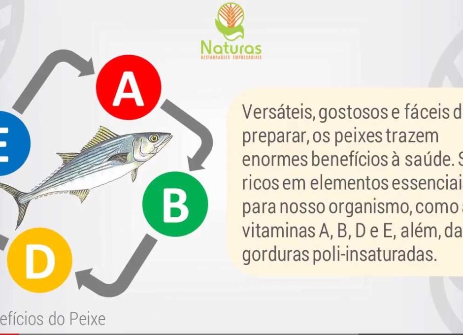 Os benefícios do peixe