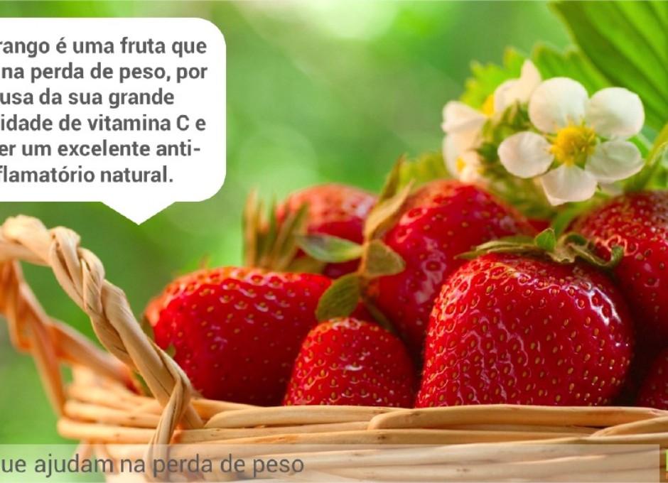 Frutas que ajudam na perda de peso