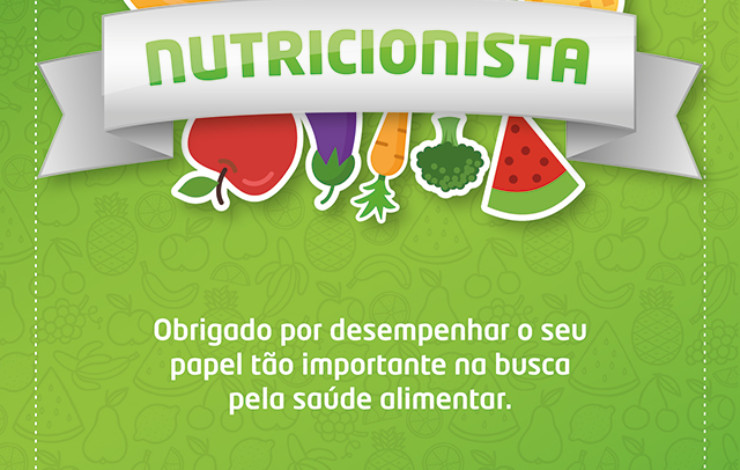 Parabéns Nutricionista!